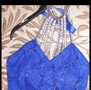 Dresses & Skirts - Blue prom dress